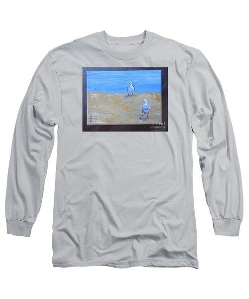 We First Met On The Beach Long Sleeve T-Shirt