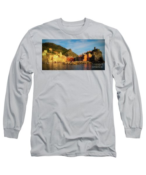 Welcome To Vernazza Long Sleeve T-Shirt