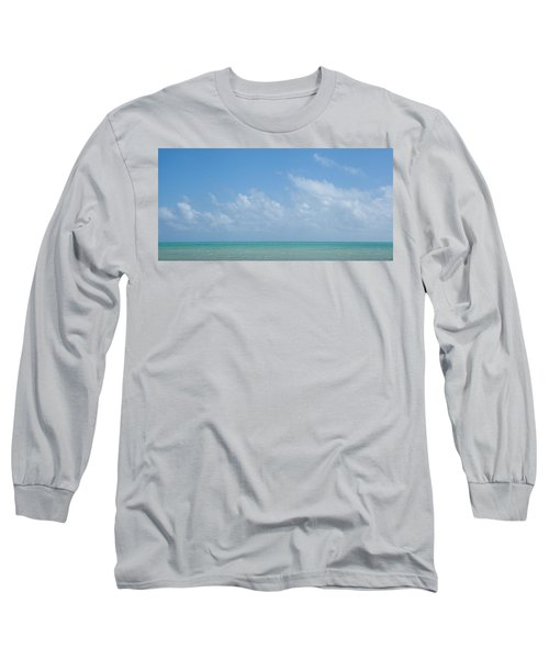 Long Sleeve T-Shirt featuring the photograph We'll Wait For Summer by Yvette Van Teeffelen