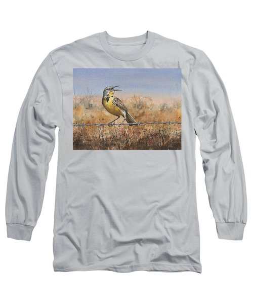 Western Meadowlark Long Sleeve T-Shirt