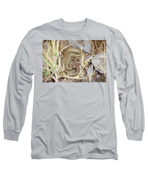 Western Yellow-bellied Racer, Coluber Constrictor Long Sleeve T-Shirt