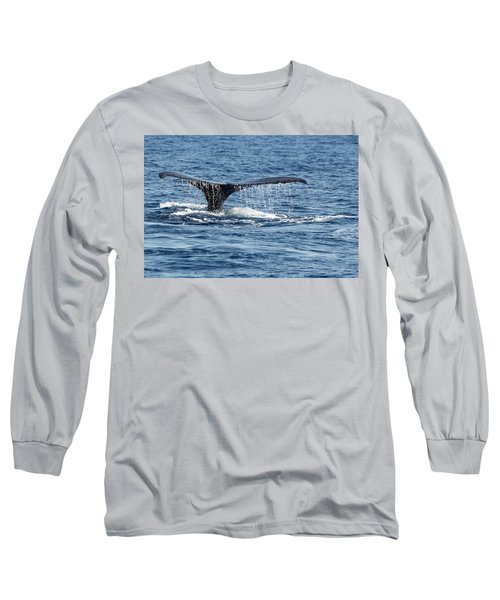 Whale Tail Long Sleeve T-Shirt