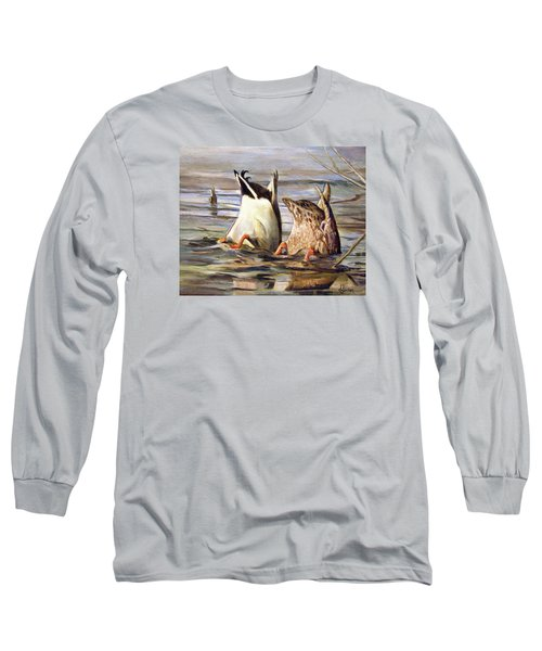 What's Up Long Sleeve T-Shirt by Donna Tucker