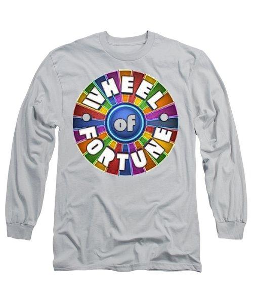 Wheel Of Fortune T-shirt Long Sleeve T-Shirt