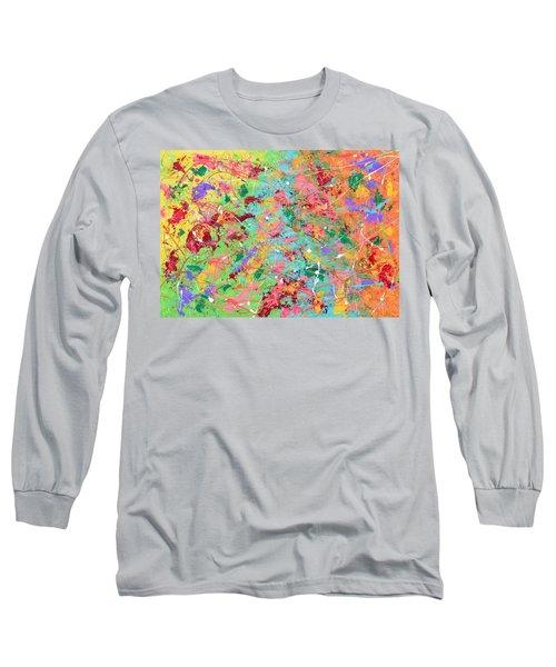 When Pollock Was Happy Long Sleeve T-Shirt