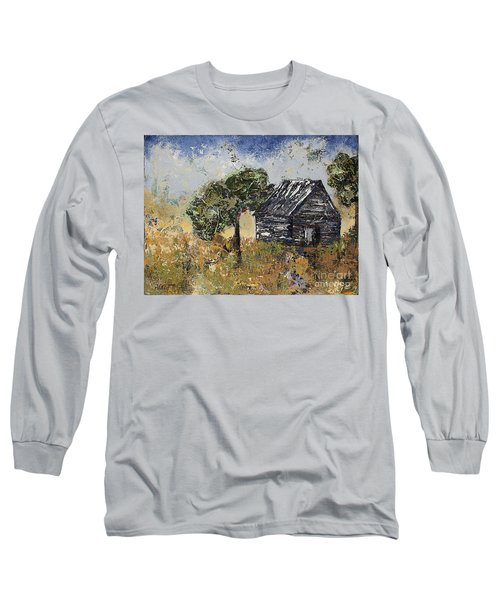 When September Ends Long Sleeve T-Shirt by Kirsten Reed