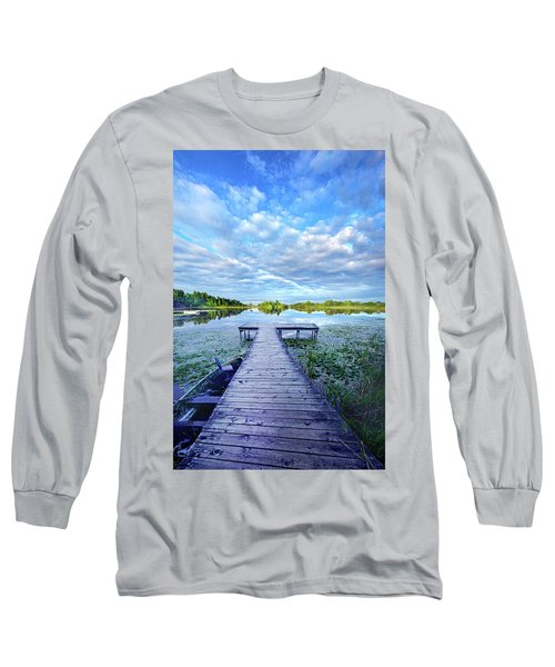 Where Dreams Are Dreamt Long Sleeve T-Shirt by Phil Koch