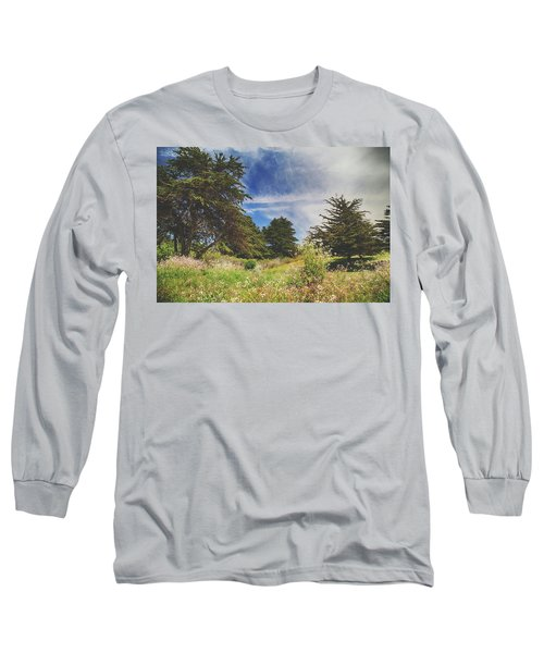Where Fairies Play Long Sleeve T-Shirt by Laurie Search