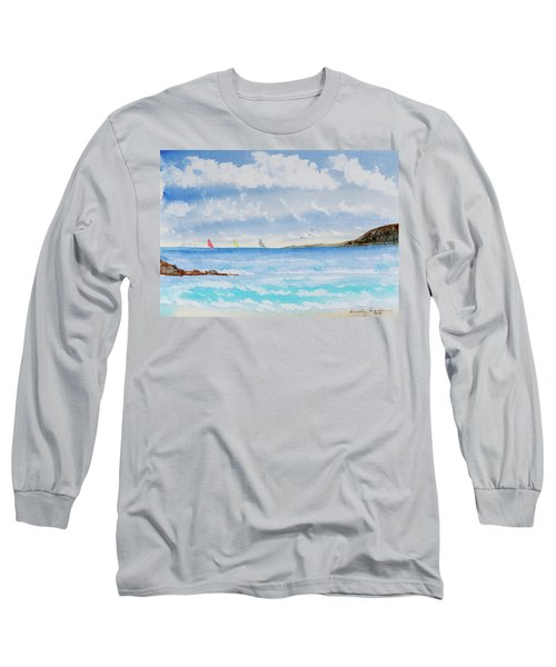 Where There's A Wind, There's A Race Long Sleeve T-Shirt