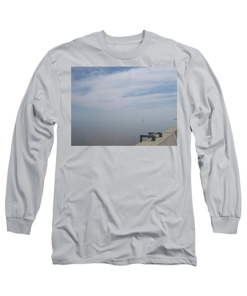Where Water Meets Sky Long Sleeve T-Shirt