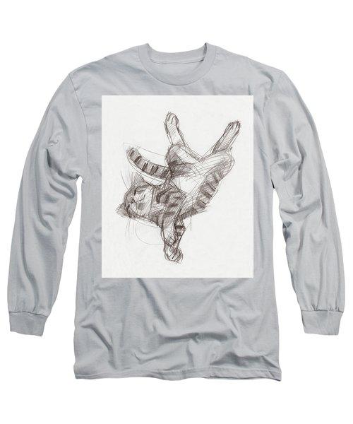 Yoga Cat Long Sleeve T-Shirt