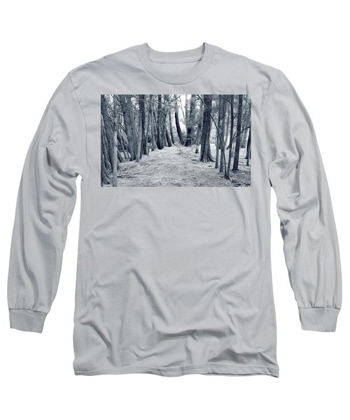 Long Sleeve T-Shirt featuring the photograph Whispering Forest by Wayne Sherriff