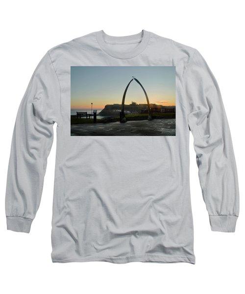 Whitby Whalebone Golden Hour Long Sleeve T-Shirt