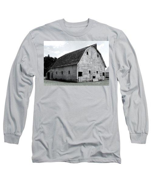White Barn Long Sleeve T-Shirt