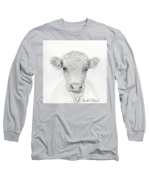 White Cow Long Sleeve T-Shirt