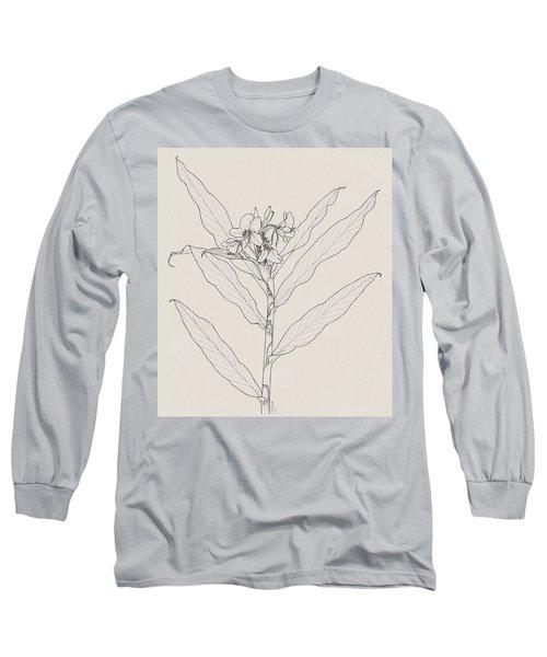 White Ginger Long Sleeve T-Shirt