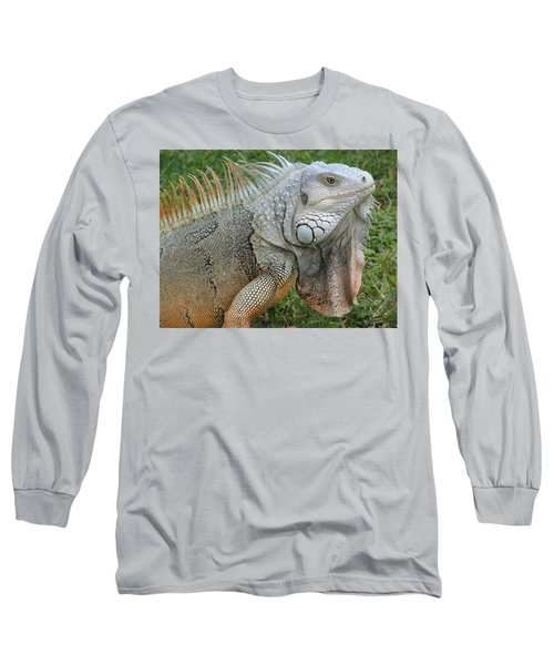 White Lizard Long Sleeve T-Shirt