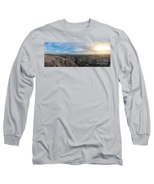 White River Valley Overlook Panorama Long Sleeve T-Shirt