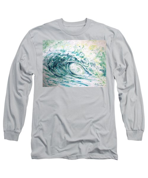 White Wash Long Sleeve T-Shirt