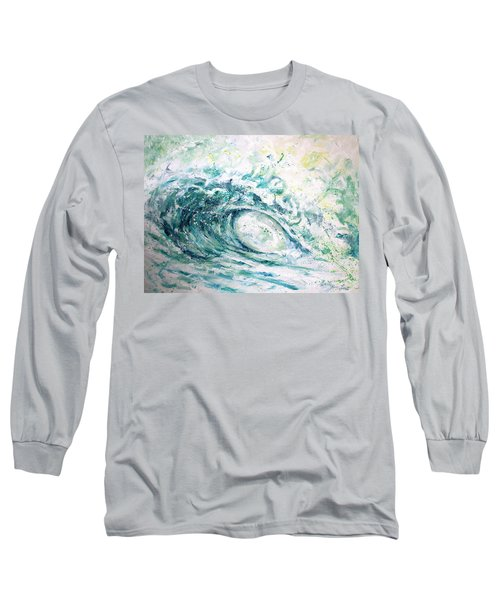 Long Sleeve T-Shirt featuring the painting White Wash by William Love