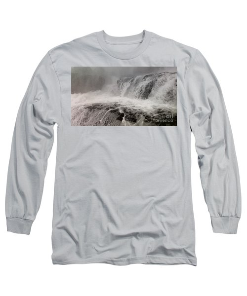 Long Sleeve T-Shirt featuring the photograph White Water by Raymond Earley
