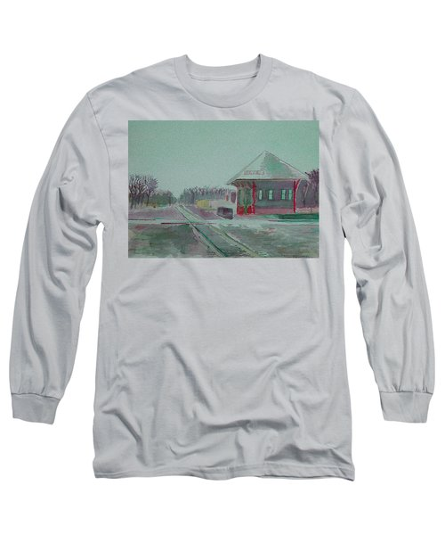 Whitewater Rail Station Long Sleeve T-Shirt