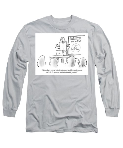 Who Here Knows The Difference Long Sleeve T-Shirt