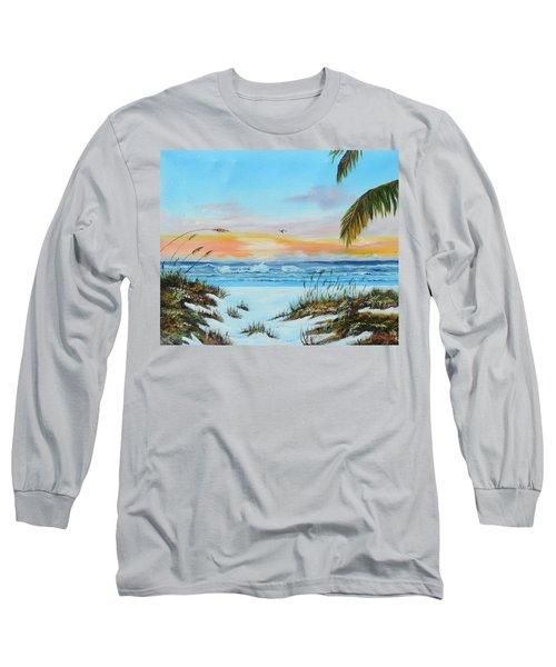 Why Not Siesta Key Long Sleeve T-Shirt by Lloyd Dobson