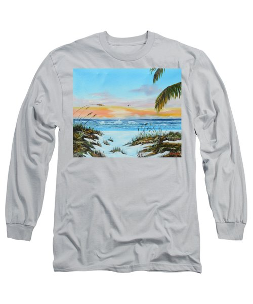 Why Not Siesta Key Long Sleeve T-Shirt