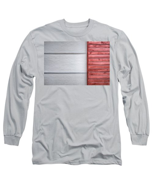 Wide And Narrow Lines Long Sleeve T-Shirt