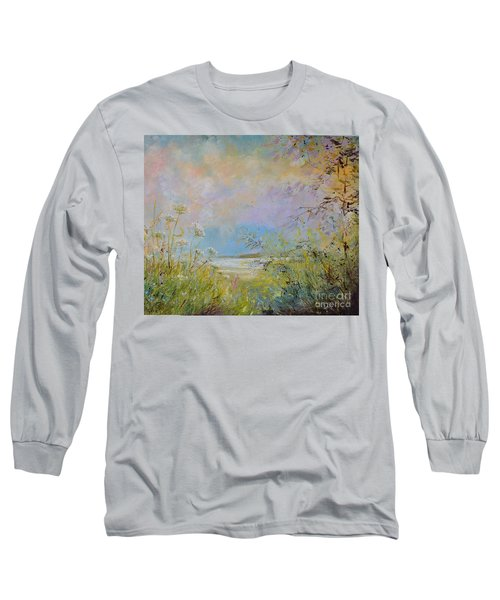 Wild Grasses Of Saugatuck Long Sleeve T-Shirt