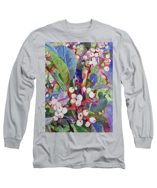 Wild Raisons Long Sleeve T-Shirt by Sandy McIntire