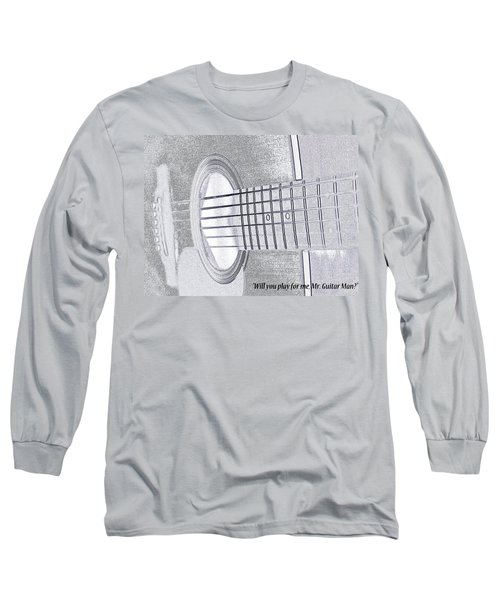 Long Sleeve T-Shirt featuring the photograph Will You Play For Me by Rhonda McDougall