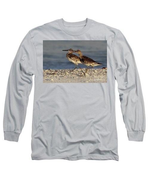 Willet Fight Long Sleeve T-Shirt