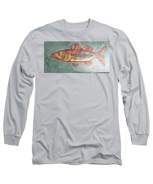 Willie The Walleye Long Sleeve T-Shirt