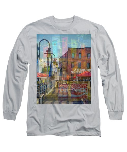 Wilmington North Carolina Riverfront Long Sleeve T-Shirt