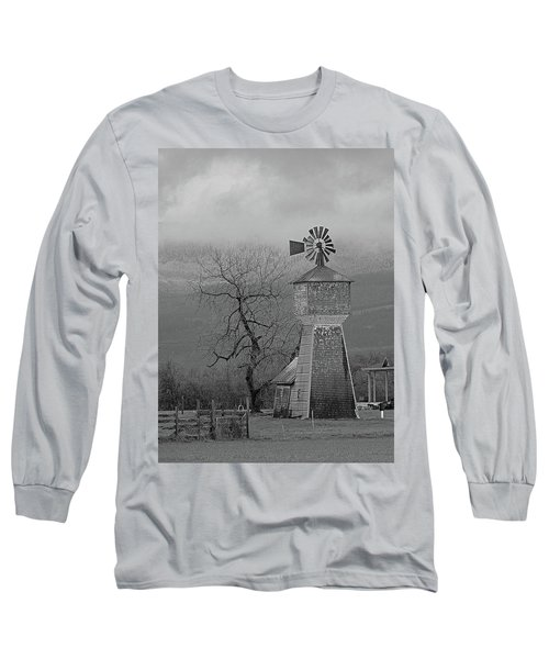 Long Sleeve T-Shirt featuring the photograph Windmill Of Old by Suzy Piatt