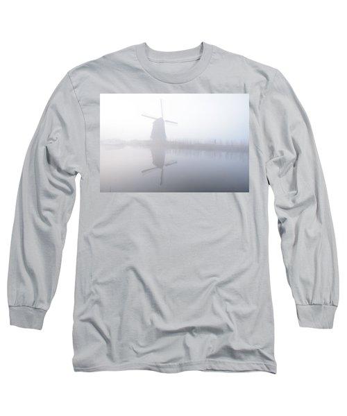 Windmill Reflection Long Sleeve T-Shirt