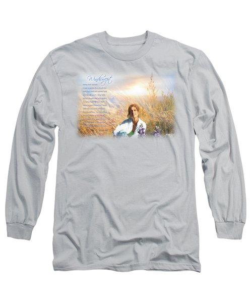 Windswept Poem Long Sleeve T-Shirt