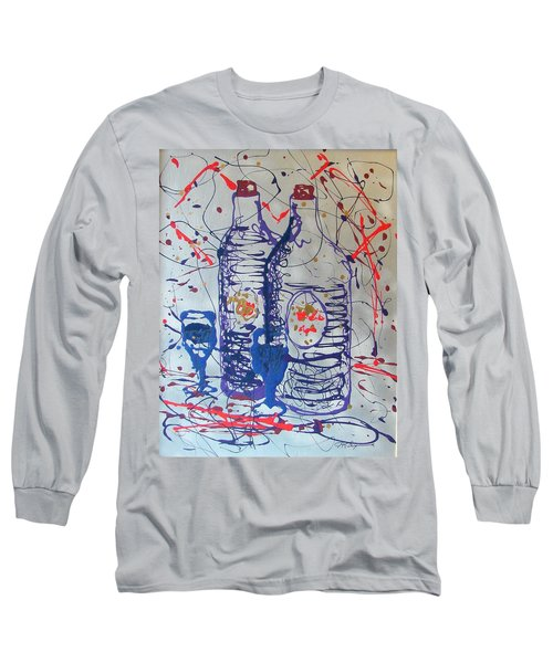 Wine Jugs Long Sleeve T-Shirt by J R Seymour
