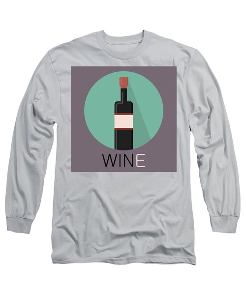 Wine Poster Print - Win And Wine Long Sleeve T-Shirt