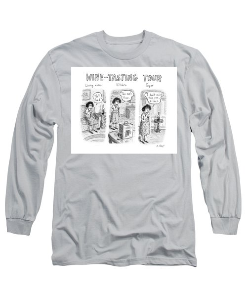 Wine-tasting Tour Long Sleeve T-Shirt