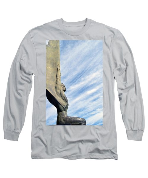 Winged Figure Of The Republic No. 1 Long Sleeve T-Shirt