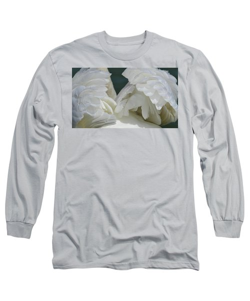 Wings Of White Long Sleeve T-Shirt