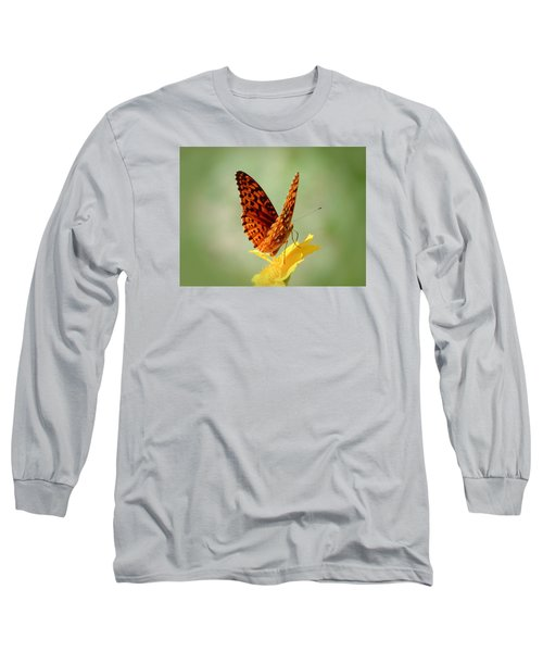Wings Up - Butterfly Long Sleeve T-Shirt by MTBobbins Photography