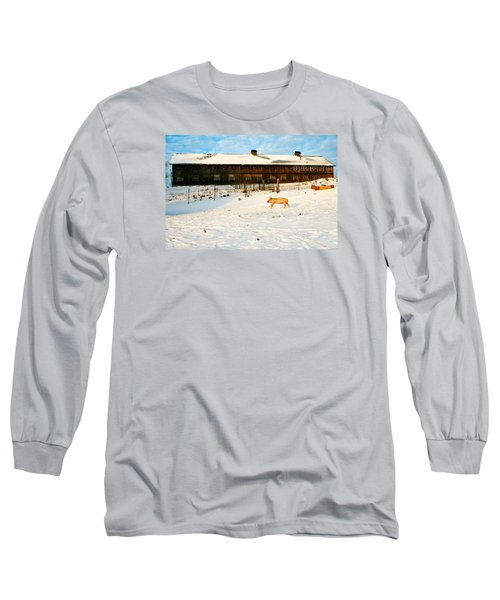 Winnie At Heartland Farm Sanctuary Long Sleeve T-Shirt