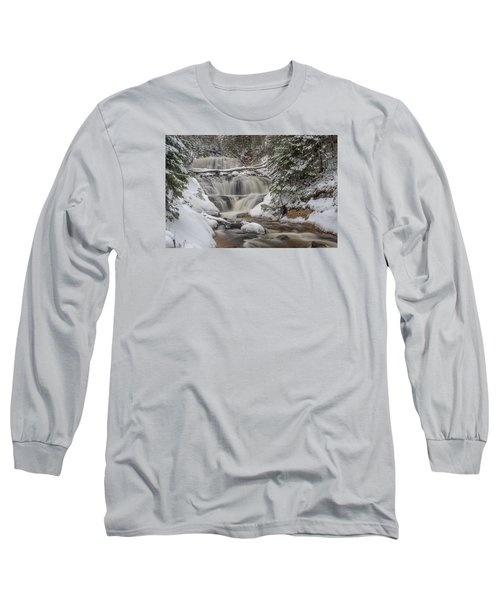 Winter At Sable Falls Long Sleeve T-Shirt
