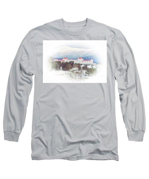 Winter At The Mt Washington Hotel 2 Long Sleeve T-Shirt
