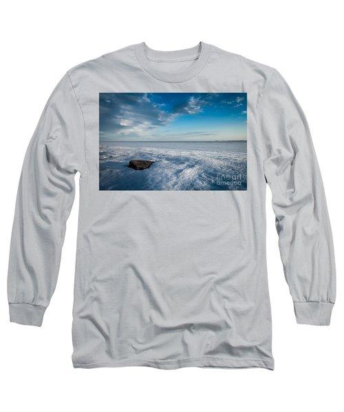 Winter Beach Long Sleeve T-Shirt