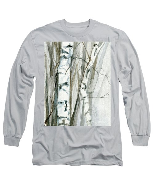 Winter Birch Long Sleeve T-Shirt